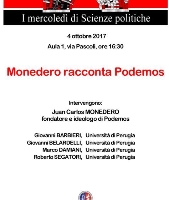Monedero racconta Podemos