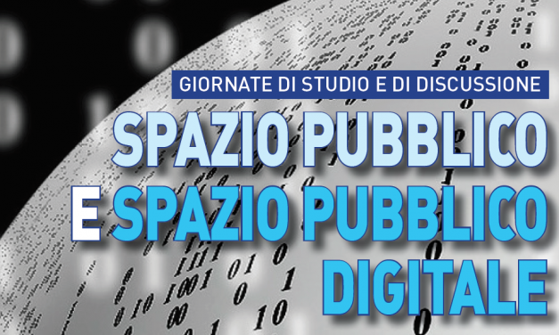 Spazio pubblico e spazio pubblico digitale